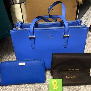 Kate spade tote and wallet